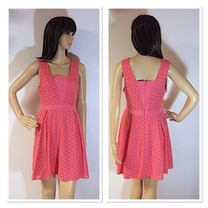 AS U WISH EYELET DRESS